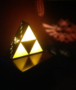Zelda Triforce Lamp Projection