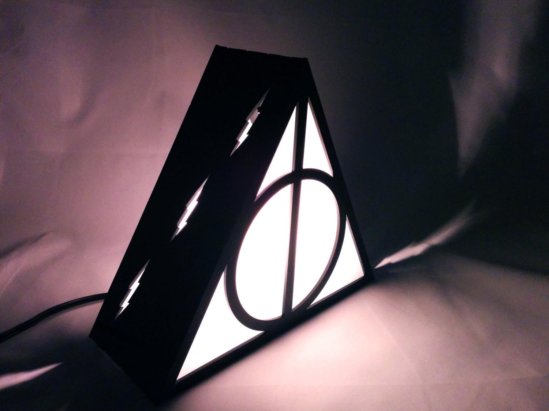 Harry Potter Deathly Hallows Lamp The Plasmatorium