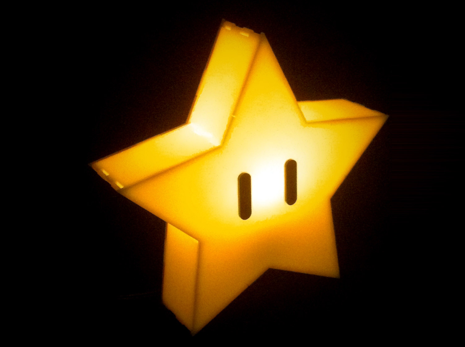 Super Mario Brothers Star Lamp The Plasmatorium