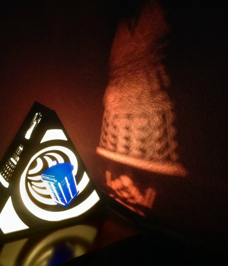 Doctor Who Tardis Lamp Projection